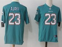 Mens Nfl Miami Dolphins #23 Jay Ajayi Green Nike Game Jersey