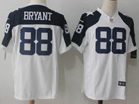 Mens Nfl Dallas Cowboys #88 Dez Bryant White Thanksgiving Game Jersey