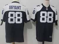 Mens Nfl Dallas Cowboys #88 Dez Bryant Blue Thanksgiving Game Jersey