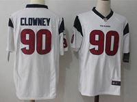 Mens Nfl Houston Texans #90 Jadeveon Clowney White Nike Game Jersey