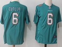 Mens Nfl Miami Dolphins #6 Jay Cutler Green Nike Game Jersey