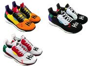 Mens Women Adidas Pw Hu Holi Solar Boostrunning Shoes 3 Color
