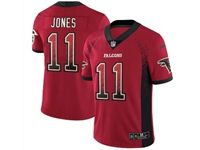 Mens Nfl Atlanta Falcons #11 Julio Jones Red Drift Fashion Vapor Untouchable Limited Jersey