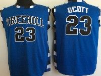 Mens Nba Movie One Tree Hill #23 Scott Blue Jersey