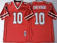 Mens Nfl Atlanta Falcons #10 Bartkowski Red Throwbacks Jersey