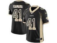 Mens Nfl New Orleans Saints #41 Alvin Kamara Black Drift Fashion Vapor Untouchable Limited Jersey