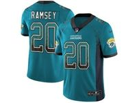 Mens Nfl Jacksonville Jaguars #20 Jalen Ramsey Blue Drift Fashion Vapor Untouchable Limited Jersey