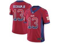 Mens Nfl New York Giants #13 Odell Beckham Jr Red Drift Fashion Vapor Untouchable Limited Jersey