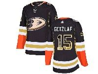 Mens Nhl Anaheim Mighty Ducks #15 Ryan Getzlaf Black Adidasdrift Fashion Home Jersey