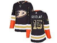 Mens Nhl Anaheim Mighty Ducks #15 Ryan Getzlaf Black Adidasdrift Fashion Home Jersey