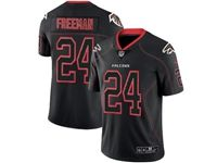 Mens Nfl Atlanta Falcons #24 Devonta Freeman 2018 Lights Out Black Vapor Untouchable Limited Jersey