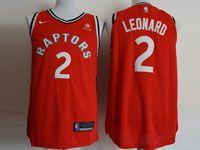 Mens Nba Toronto Raptors #2 Kawhi Leonard 2018-2019 Red Nike Swingman Jersey