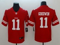 Mens Nfl San Francisco 49ers #11 Marquise Goodwin Red Vapor Untouchable Limited Player Jersey