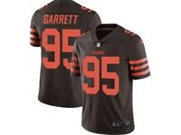 Mens Nfl Cleveland Browns #95 Myles Garrett Brown Color Rush Vapor Untouchable Limited Nike Jersey