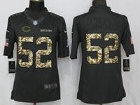 Mens Nfl Chicago Bears #52 Khalil Mack Anthracite Salute To Service Nike Limited Jersey