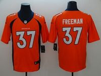 Mens Nfl Denver Broncos #37 Freeman Orange Vapor Untouchable Limited Player Jersey