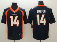 Mens Nfl Denver Broncos #14 Courtland Sutton Blue Vapor Untouchable Limited Player Jersey