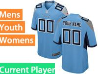 Mens Women Youth Nfl Tennessee Titans Light Blue 2018 Current Player Vapor Untouchable Limited Jersey