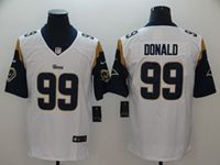 Mens Nfl St. Louis Rams #99 Aaron Donald White Vapor Untouchable Nike Limited Player Jersey