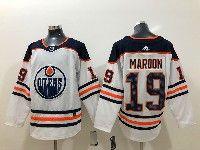 Mens Adidas Nhl Edmonton Oilers #19 Patrick Maroon White Jersey