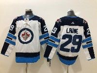 Mens Nhl Winnipeg Jets #29 Patrik Laine White Adidas Jersey