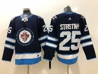Mens Nhl Winnipeg Jets #25 Paul Stastny Blue Adidas Jersey