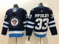 Mens Nhl Winnipeg Jets #33 Dustin Byfuglien Blue Adidas Jersey