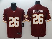 Mens Nfl Washington Redskins #26 Adrian Peterson Red Vapor Untouchable Limited Player Jersey