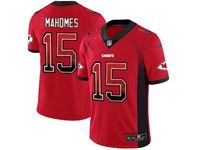 Mens Nfl Kansas City Chiefs #15 Patrick Mahomes Red Drift Fashion Vapor Untouchable Limited Jersey