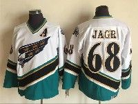 Mens Nhl Washington Capitals #68 Jaromir Jagr White Throwbacks Ccm 1990 Vintage Classic Jersey