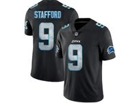 Mens Nfl Detroit Lions #9 Matthew Stafford 2018 Fashion Impact Black Vapor Untouchable Limited Jersey