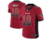 Mens Nfl Atlanta Falcons #18 Calvin Ridley Red Drift Fashion Vapor Untouchable Limited Jersey
