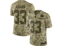 Mens Nfl New York Jets #33 Jamal Adams 2018 Camo Salute To Service Limited Jersey