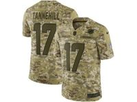 Mens Nfl Miami Dolphins #17 Ryan Tannehill 2018 Camo Salute To Service Limited Jersey