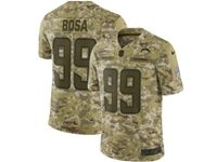 Mens Nfl Los Angeles Chargers #99 Joey Bosa 2018 Camo Salute To Service Limited Jersey