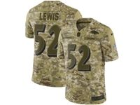 Mens Nfl Baltimore Ravens #52 Ray Lewis 2018 Camo Salute To Service Limited Jersey