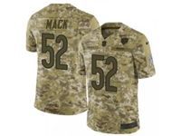 Mens Nfl Chicago Bears #52 Khalil Mack 2018 Camo Salute To Service Limited Jersey