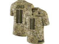 Mens Nfl Atlanta Falcons #11 Julio Jones 2018 Camo Salute To Service Limited Jersey
