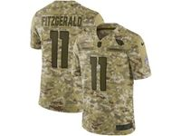 Mens Nfl Arizona Cardinals #11 Larry Fitzgerald 2018 Camo Salute To Service Limited Jersey