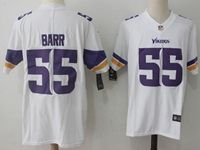 Mens Minnesota Vikings #55 Anthony Barr White Nike Vapor Untouchable Limited Jersey