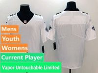 Mens Women Nfl New Orleans Saints White Vapor Untouchable Limited Current Player Jersey