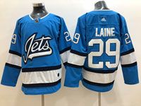 Mens Nhl Winnipeg Jets #29 Patrik Laine Light Blue Adidas Jersey