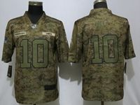 Mens Womens Nfl Kansas City Chiefs #10 Tyreek Hill 2018 Camo Salute To Service Limited Jersey