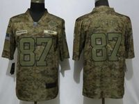 Mens Womens Nfl Kansas City Chiefs #87 Travis Kelce 2018 Camo Salute To Service Limited Jersey