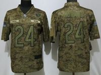 Mens Nfl Chicago Bears #24 Jordan Howard 2018 Camo Salute To Service Limited Jersey