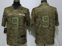 Mens Nfl New Orleans Saints #9 Drew Brees 2018 Camo Salute To Service Limited Jersey