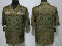 Mens Women Nfl Houston Texans #99 Jj Watt 2018 Camo Salute To Service Limited Jersey