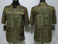 Mens Nfl New England Patriots #87 Rob Gronkowski 2018 Camo Salute To Service Limited Jersey