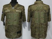 Mens Women Nfl Los Angeles Chargers #99 Joey Bosa 2018 Camo Salute To Service Limited Jersey