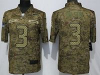 Mens Nfl Seattle Seahawks #3 Russell Wilson 2018 Camo Salute To Service Limited Jersey